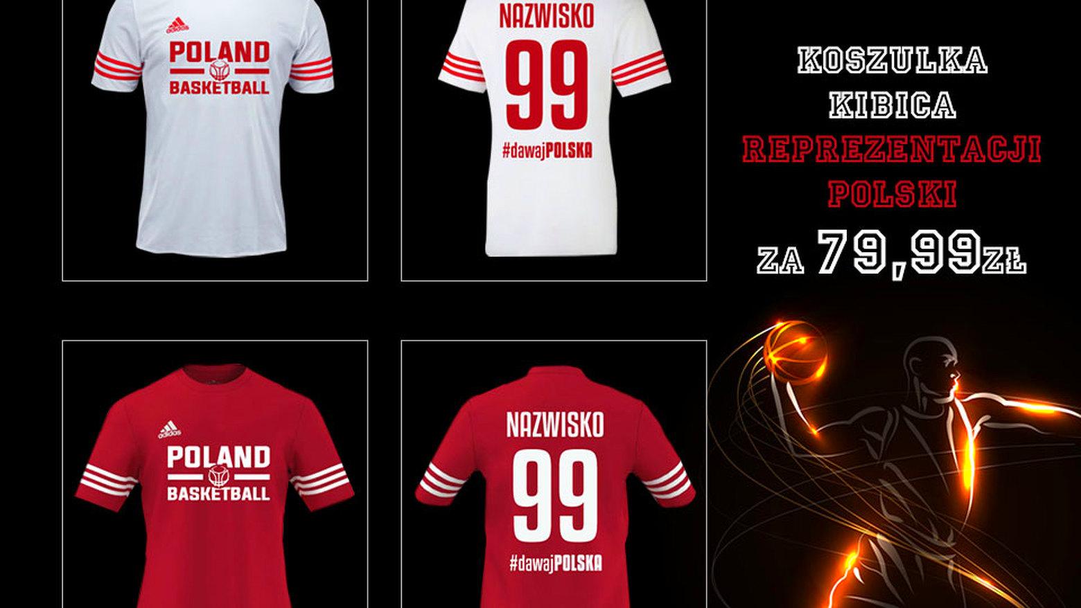 add1fd4ae Oficjalne koszulki kibica Reprezentacji Polski już dostępne