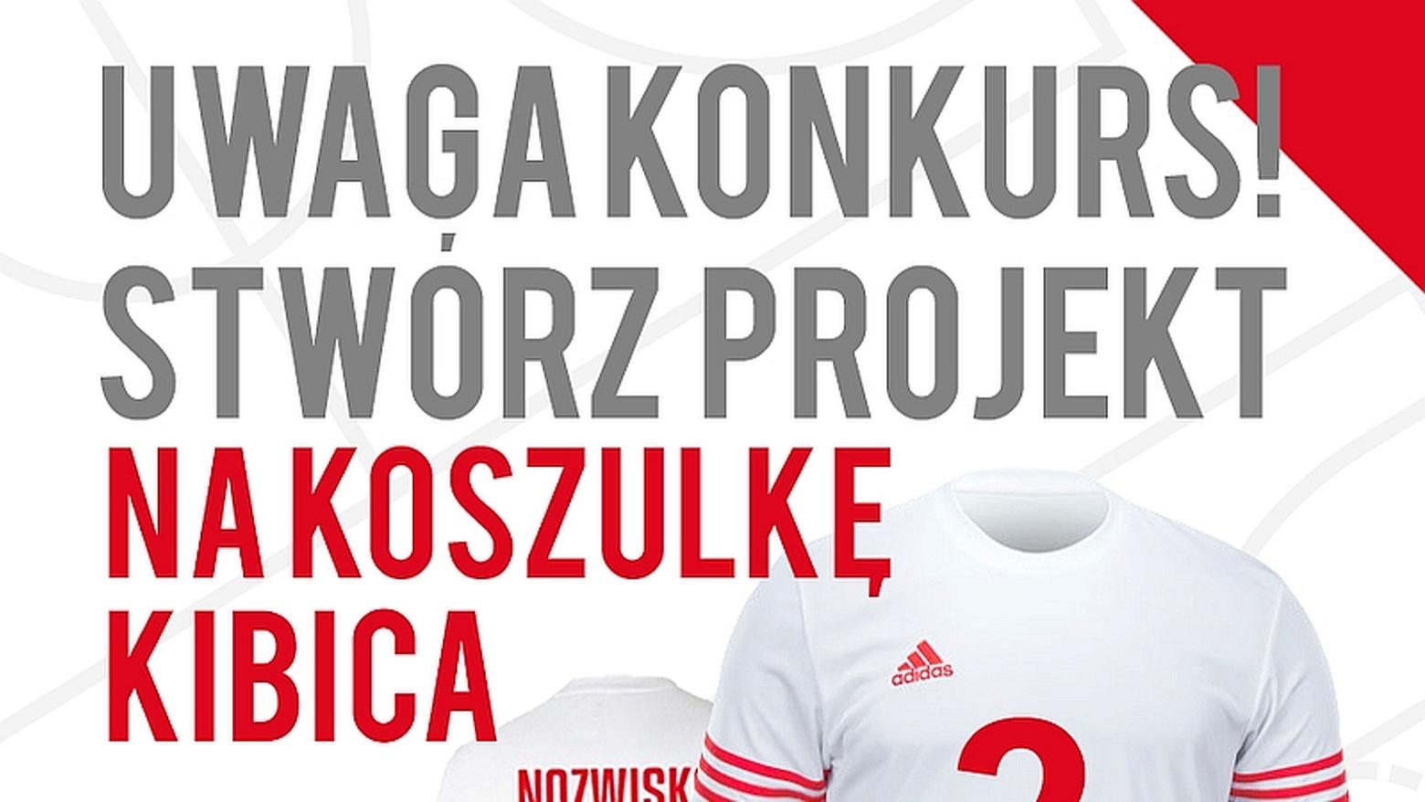eeb361bf4 KoszKoszulka! – Zaprojektuj koszulkę Kibica Reprezentacji Polski